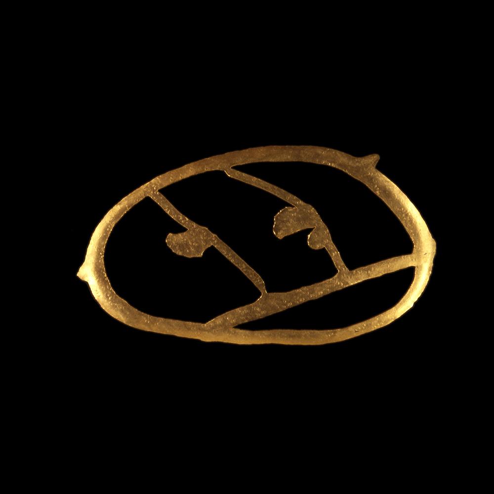 """1980s  24-karat gold, 2x4"""""""
