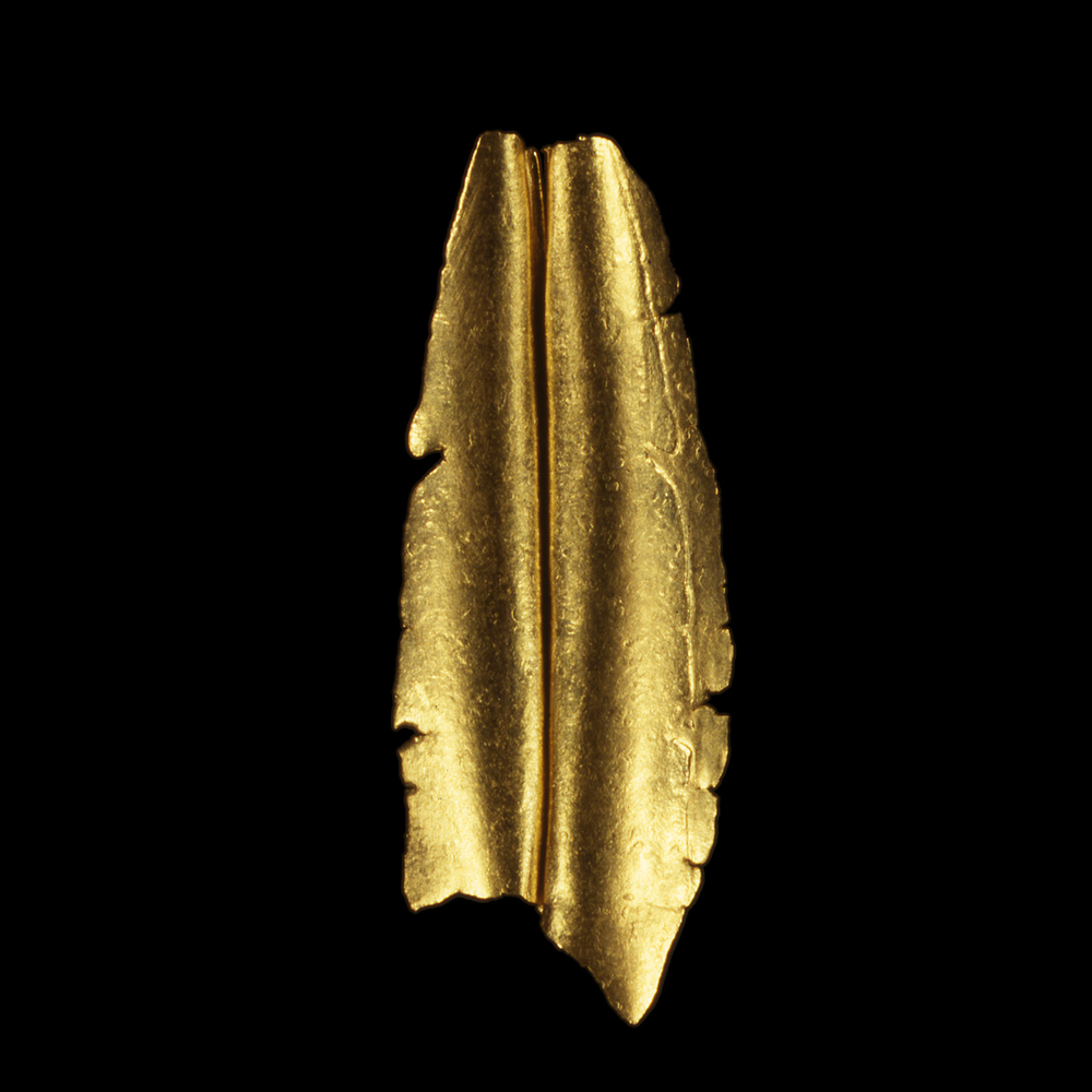"""1980s  24-karat gold, 3x1"""""""