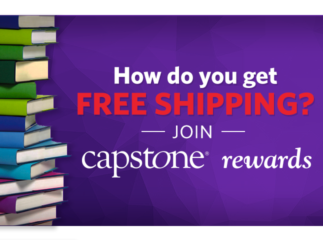 Earn Points for purchases, receive additional books AND Always FREE SHIPPING from Capstone!