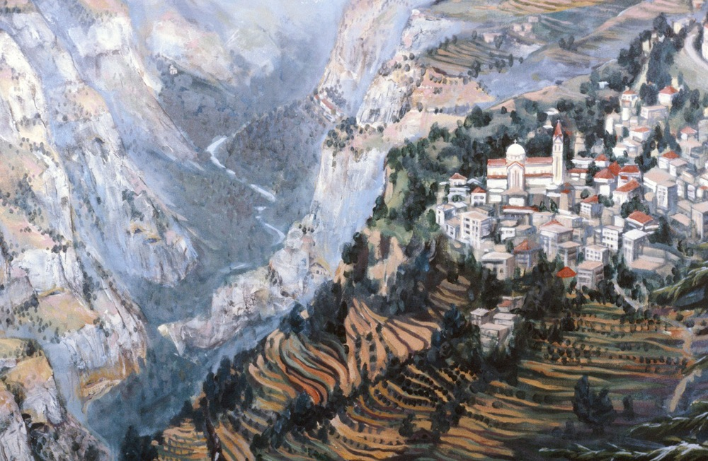 Kadisha Valley (detail)