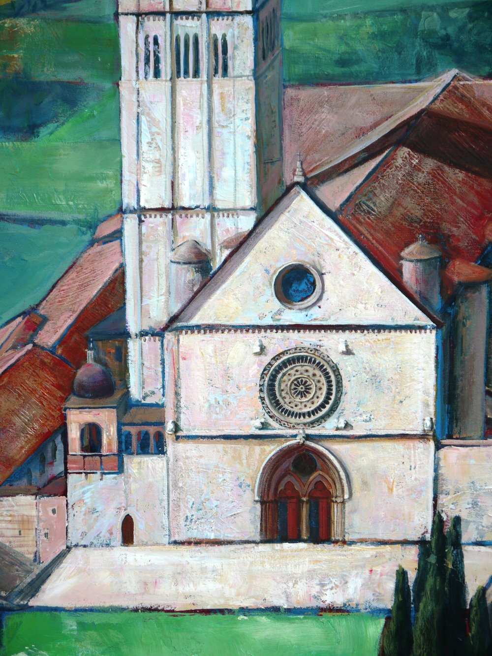 Basilica of St. Francis (detail)