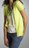 J.Crew V-neck short-sleeve cardigan, $59.50