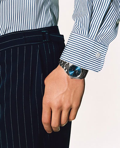 3. Thou shalt invest in the right timepiece. (And not wear to the office the one you wear to the gym.)