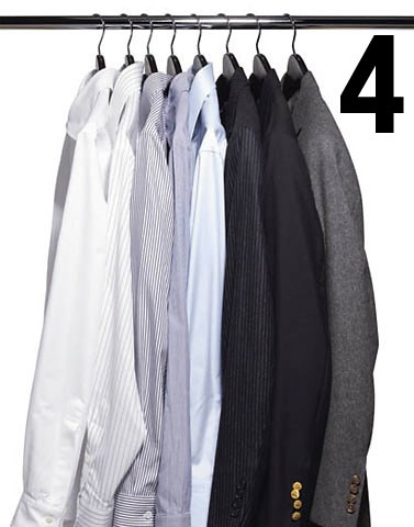 4. Thou shalt take care of your clothes.
