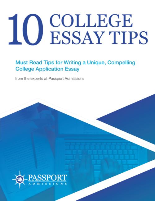College admissions essay resources
