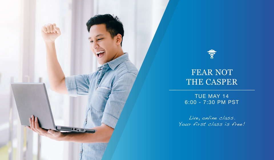 Join our CASPer medical school admissions test class!