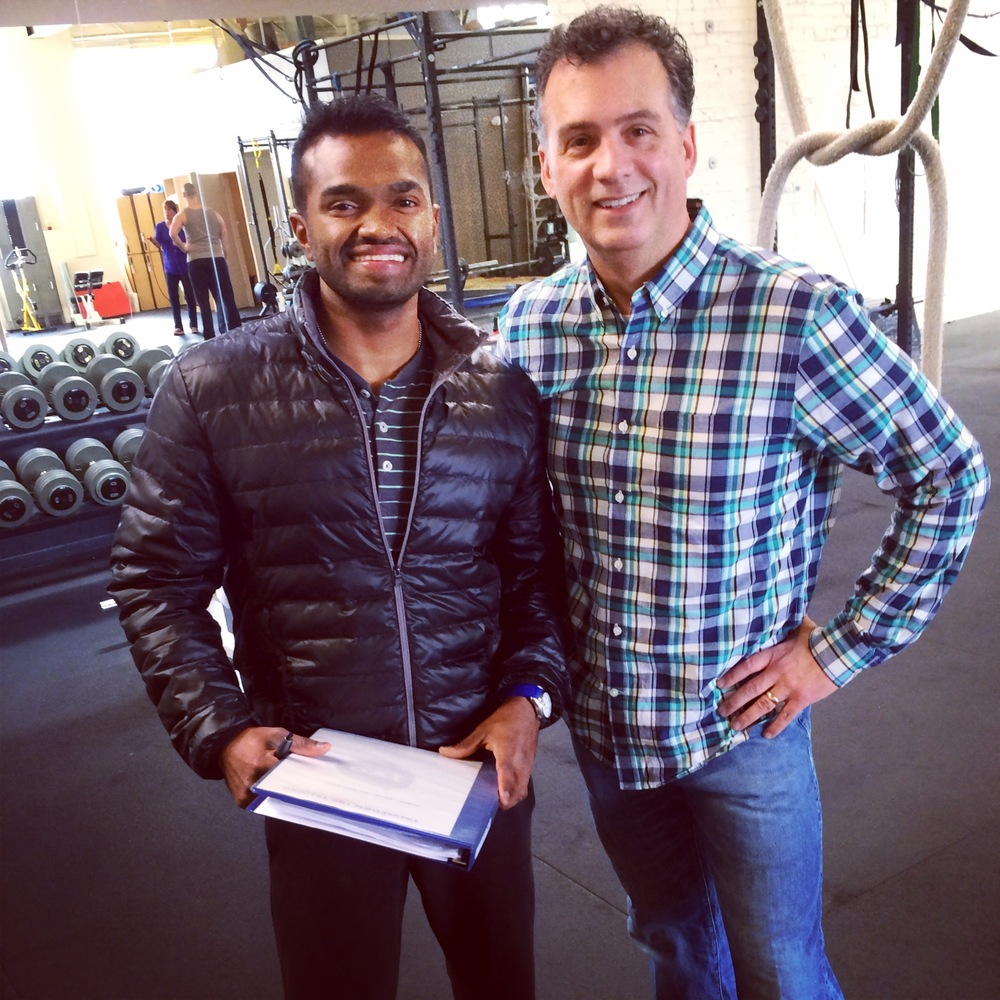 """In less than a year, Charith Madawela and Transform180 have turned me from a flabby, 50-something sloth who was winded after walking up a flight of stairs into a fit, energetic guy again.  Through a unique combination of exercises, tremendous coaching and support, and guidance on diet, I'm stronger than I've been since college and my waist size is going down. What makes Charith's approach so effective is the research behind what he does. He's a former aeronautical engineer, and he brings that analytical background into the exercise arena. The result is a smart, effective program tailored specifically to my goals. The key to fitness success, though, is sticking with your program. No matter how good the game plan, it's useless if you're not working. Charith pushes hard, but he does so in a way that keeps you coming back because the experience is positive. Exhausting, even painful, but positive.  I truly can't say enough good things about Charith and the Transform180 approach."" -Greg Witter (Seattle, WA)"