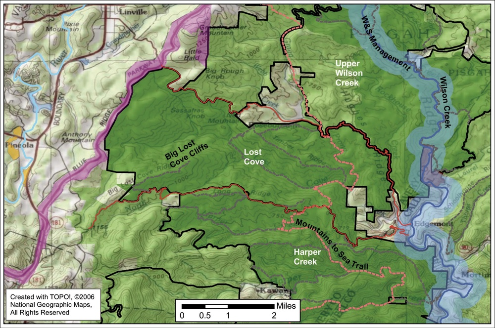 Map credit: Hugh Irwin, The Wilderness Society