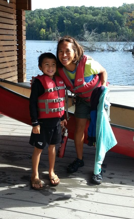 Aileen and Finn after canoeing.jpg