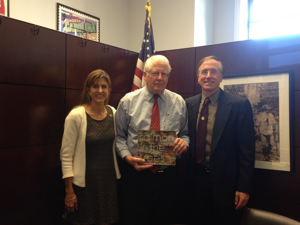 Kelly Mieszkalski (NC), Congressman David Price (NC), Jonathan Matthews (MT)