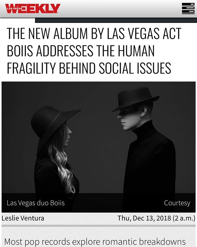 Thank you, @lasvegasweekly for the amazing story! 🖤 #TheProjectGeneration