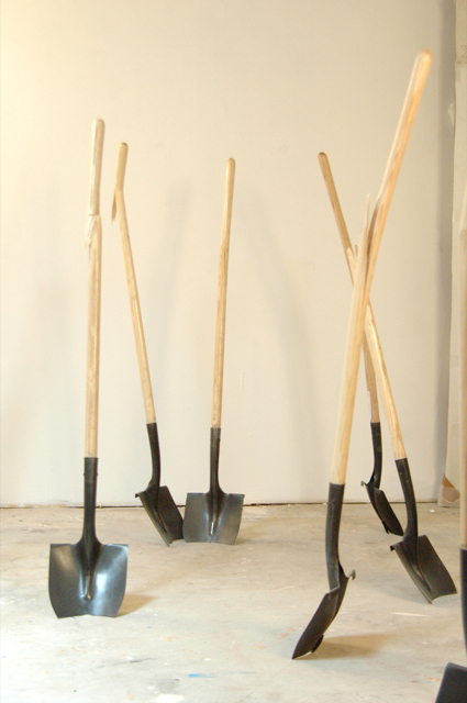 """Groundbreaking or In Advance of the Broken Shovel"""