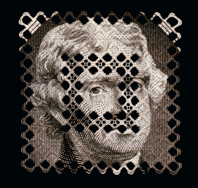 Presidential Doily (Jefferson), 2001