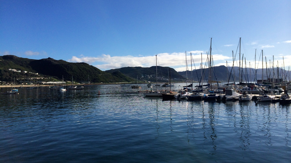 Simon's Town Harbor, Cape Town, South Africa