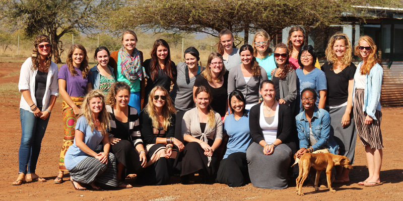 The 22 N Squad women who served at the AIM base in Nsoko, Swaziland.