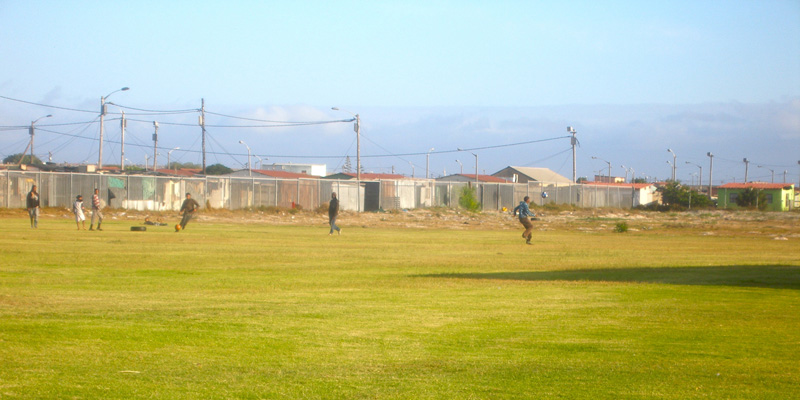 Soccer field in Lavender Hill // S ource:katherineaucap.wordpress.com