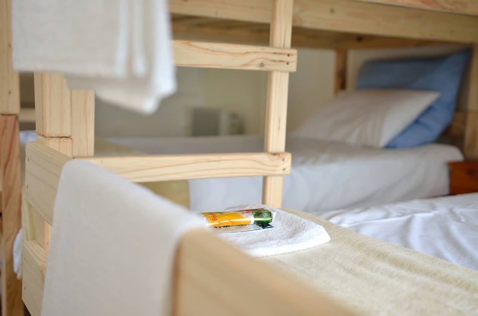 Safe Haven offers one double room and three rooms with single bunkbeds.
