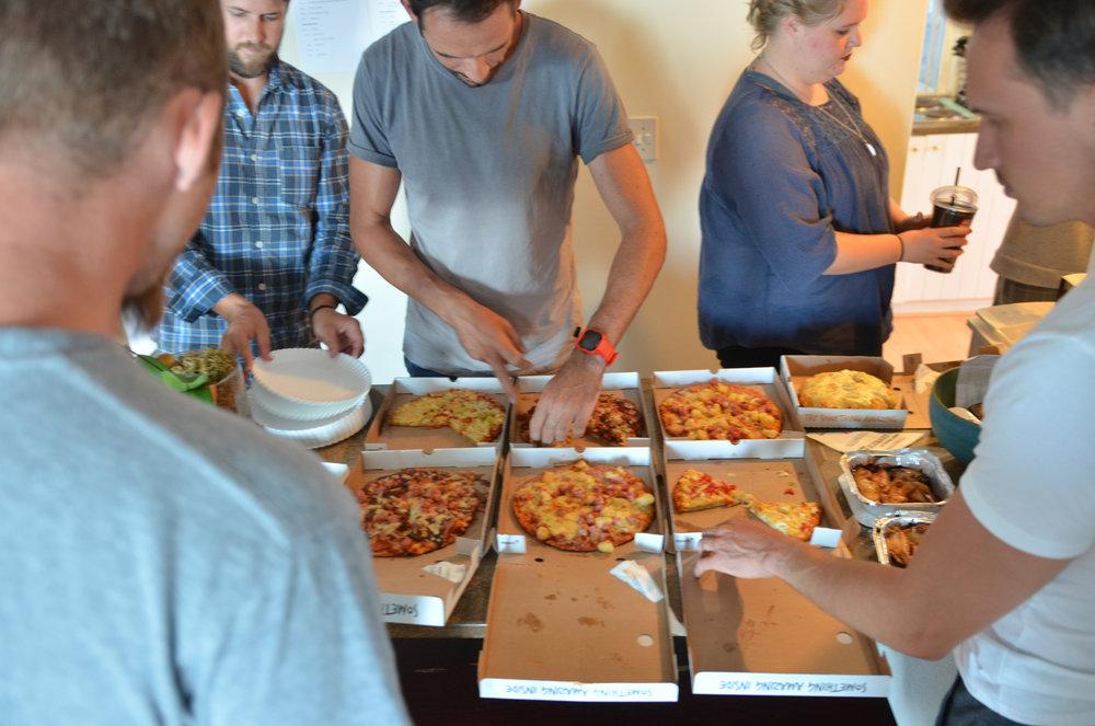 Pizza @ 2017 Team Retreat
