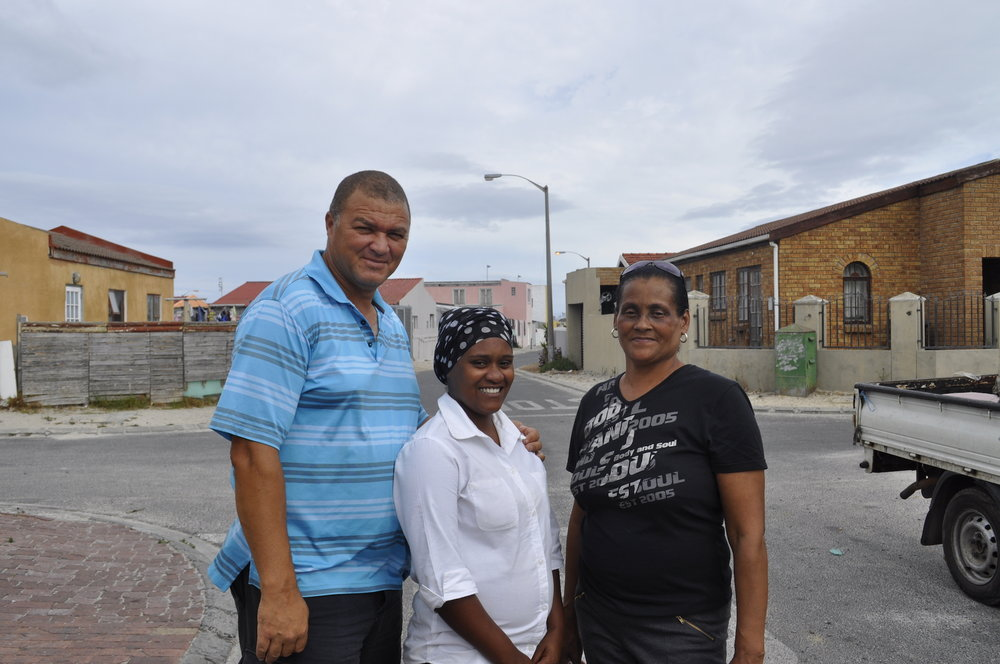 Edwin, Tayreen, and Janett in Lavender Hill