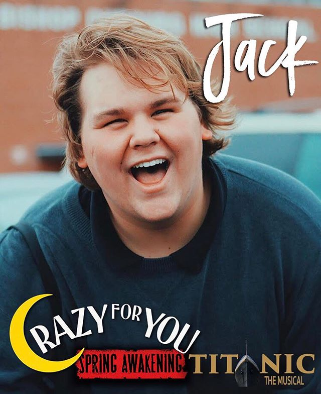 "It's time for Senior Features!  Meet Jack, a YTC actor and student! We've loved working with Jack both on the stage and in the classroom. He can make anyone smile and is a great tapper, actor and performer! We will definitely miss him (and his killer splits). Come see him in Titanic! Here's what Jack wants to share with you: ""In the future I will be performing in Spring Awakening as Otto and understudying Ernst! I will also be attending Lindenwood, working toward getting my BFA in Musical Theatre! I learned more at GCPA than I did at my actual school. Love you guys!"" ... #gcpatitanic #gcpaseniortakeover #gcpaseniorfeatures"