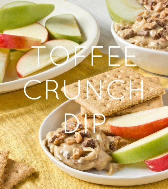 TOFFEE CRUNCH DIP