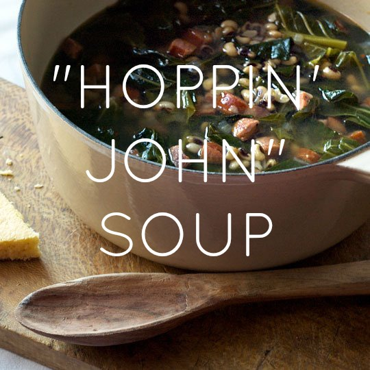 HOPPIN JOHN SOUP