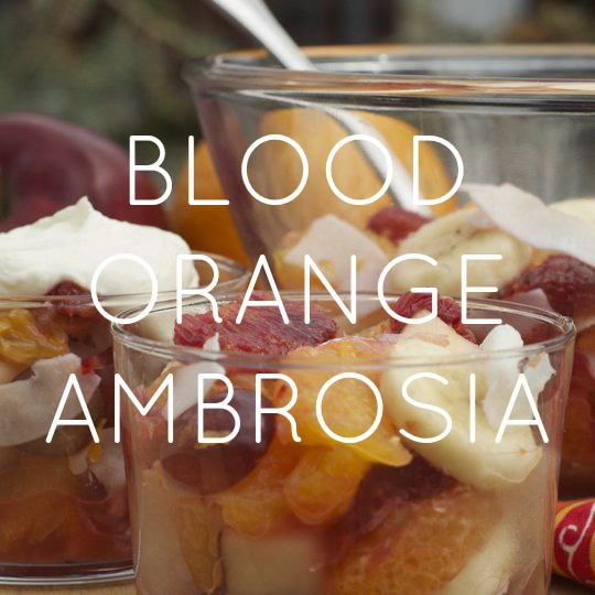 Blood Orange Ambrosia