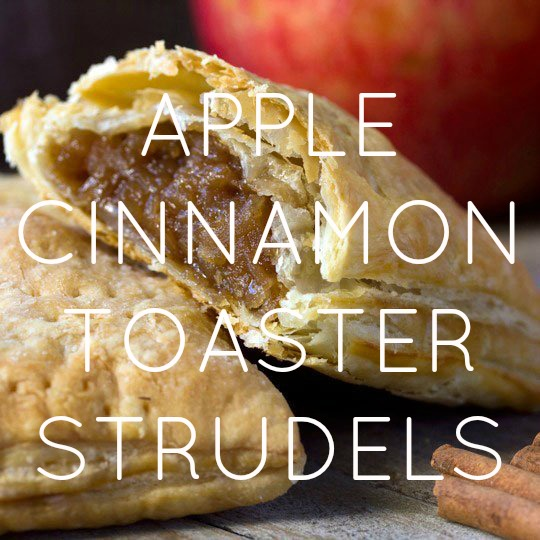 Apple Cinnamon Toaster Strudles