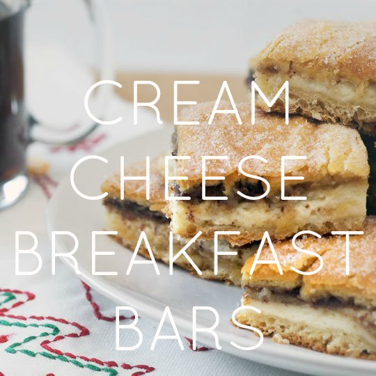 Cream Cheese Breakfast Bars