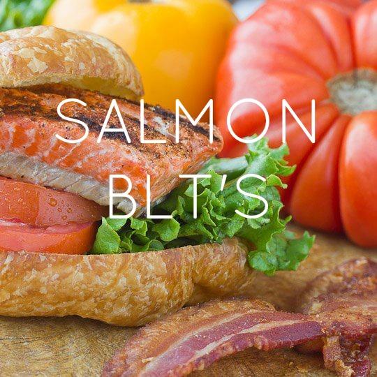 Salmon BLT's