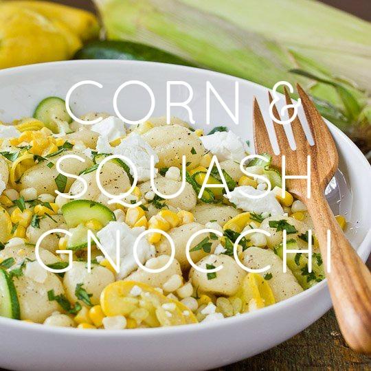 Corn & Summer Squash Gnocchi