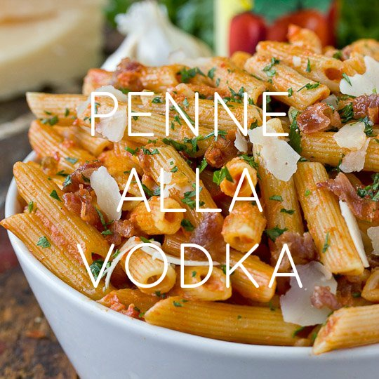 Penna alla Vodka