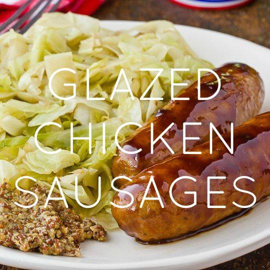 Glazed Chicken Sausage