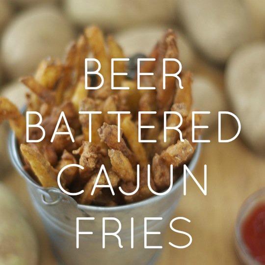 Beer Battered Cajun Fries
