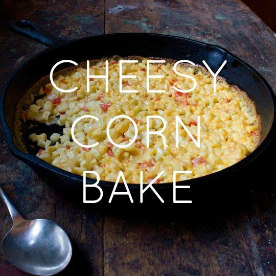 Cheesy Corn Bake