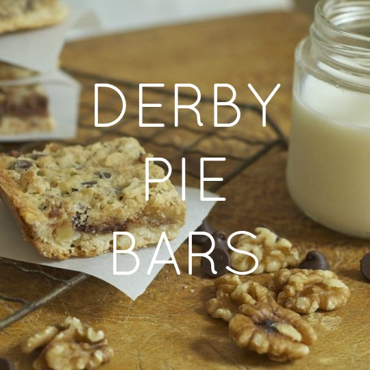 Derby Pie Bars