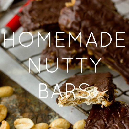Homemade Nutty Bars