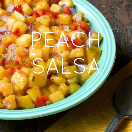 Peach Salsa