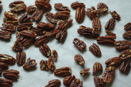 Spicy Maple Pecans 2