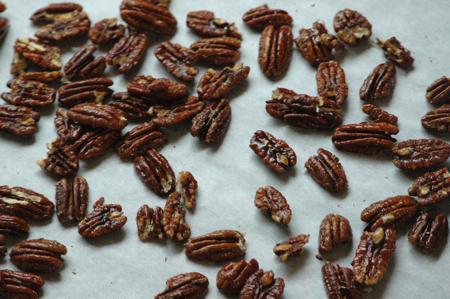 Spicy Maple Pecans 2