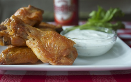Baked Hot Wings 2