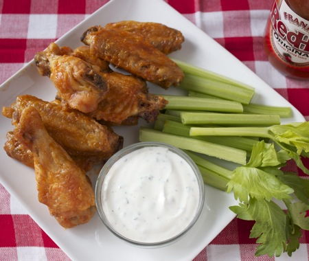 Baked Hot Wings 3