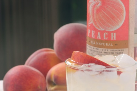 Peach Vodka Lemonade 1