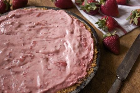 Strawberry Icebox Pie 1