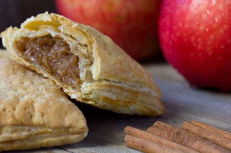 ... Apples! For breakfast, try my homemade Apple-Cinnamon Toaster Strudels