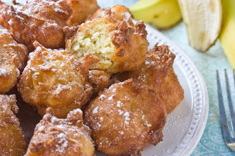 ... (and some pretty freaking awesome Coconut Banana Fritters , to boot