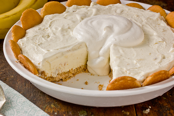 Banana Pudding Ice Cream Pie Recipe — Dishmaps
