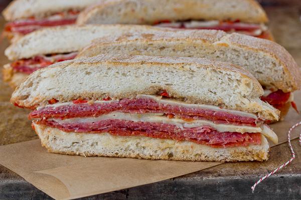 Recipe: Spicy Italian Sandwiches — Dixie Caviar