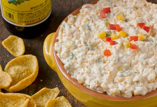 Cowboy Corn Dip | Dixie Caviar