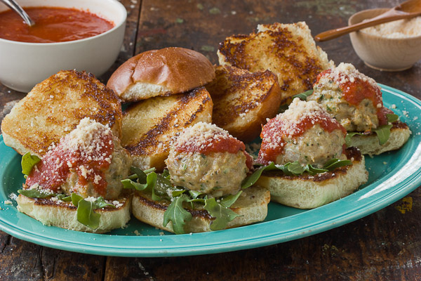 Chicken Meatballs Sliders-1